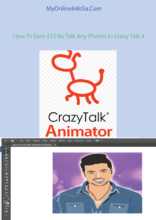 How To Earn $10 By Talk Any Photos In Crazy Talk 4